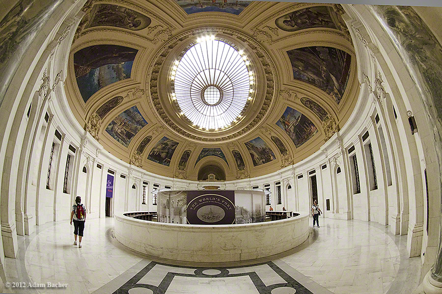 Alexander Hamilton U.S. Custom House, rotunda, National Museum of the American Indian,