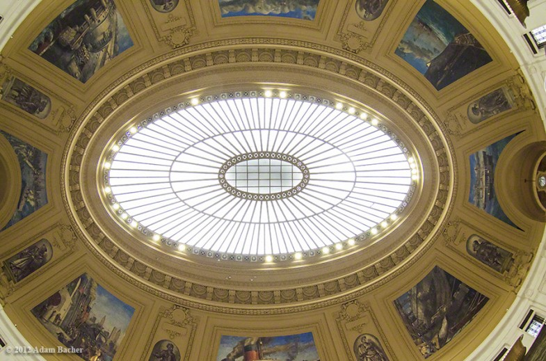 Alexander Hamilton U.S. Custom House, rotunda ceiling , National Museum of the American Indian.