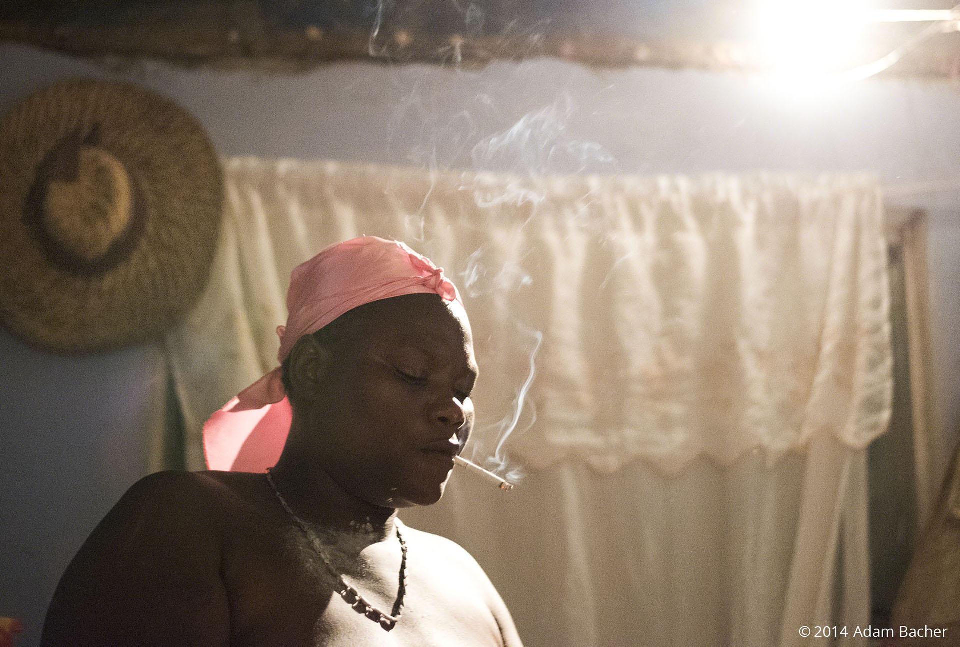 halloween vodou ceremony in haiti