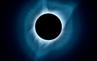 Total eclipse of the sun.