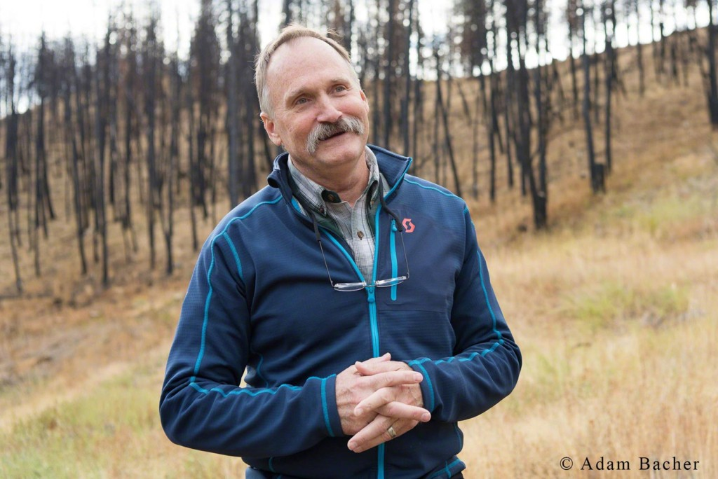 Paul Hessburg, forest fires in western United States and Mega Fires